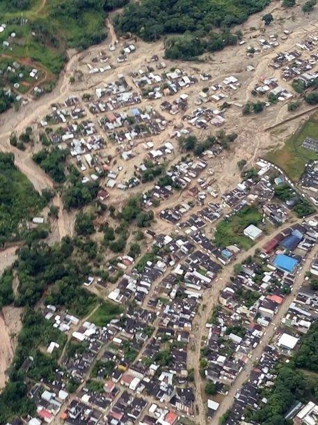 Оползень в Колумбии: погибло 254 человек