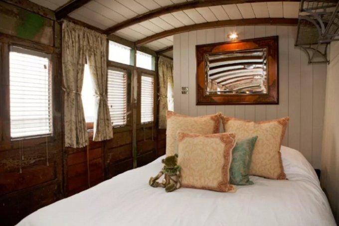 Старый вагон превратили в пятизвездочный отель. Фото