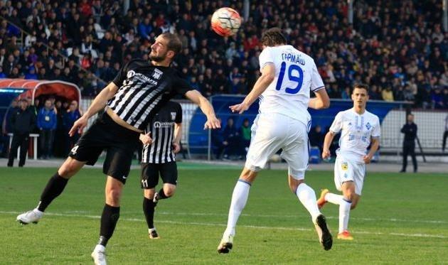 «Динамо» пробилось в полуфинал Кубка Украины