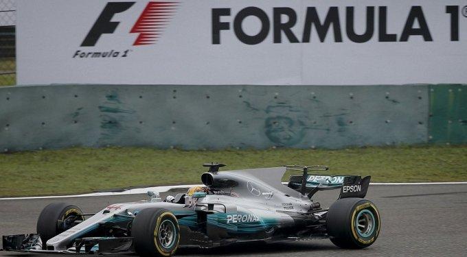 Формула-1. Хэмилтон в очередной раз выиграл гонку в Шанхае