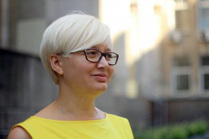 Языковой скандал в Киеве: Лариса Ницой продолжает бороться с русским языком