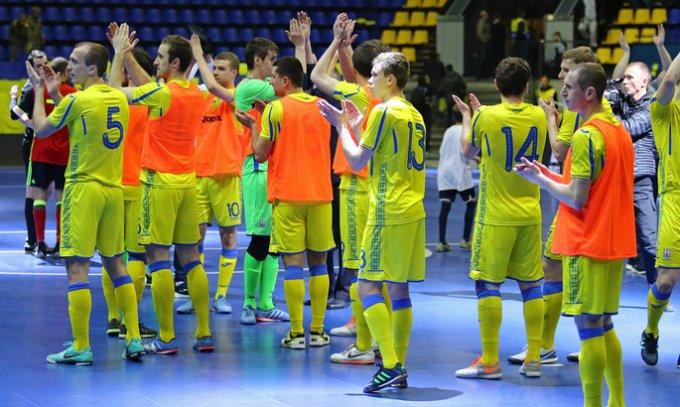Сборная Украины по футзалу пробилась на чемпионат Европы