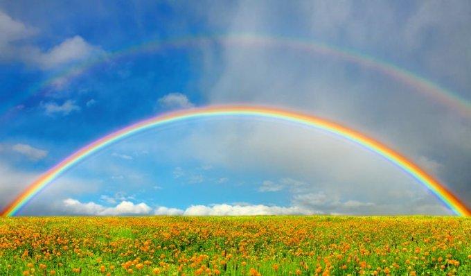 """Невероятные снимки на тему """"после дождя всегда появляется радуга"""". Фото"""