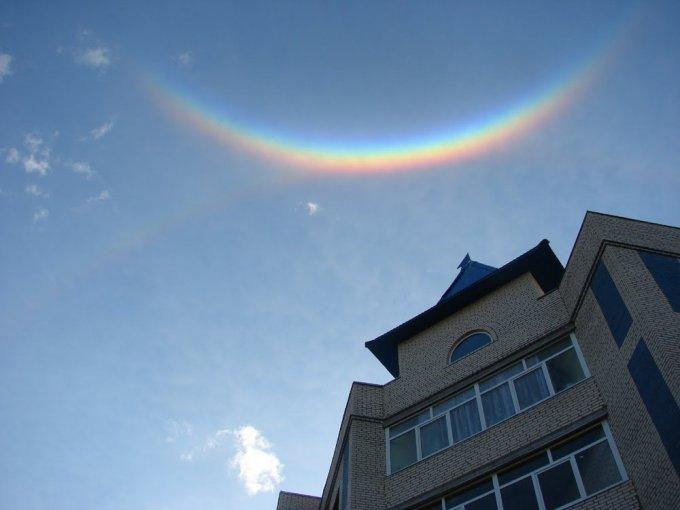 Невероятные снимки на тему «после дождя всегда появляется радуга». Фото
