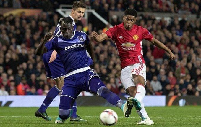 «Манчестер Юнайтед» и «Лион» пробились в полуфинал Лиги Европы