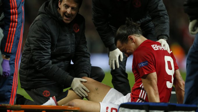 Ибрагимович получил тяжелую травму