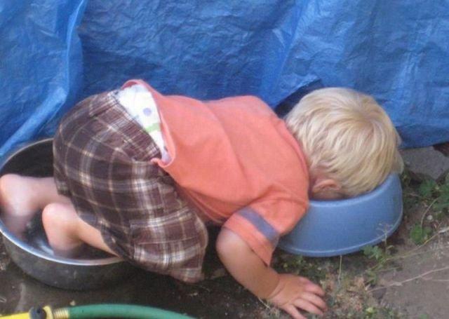 Веселые фото на тему «детские шалости»