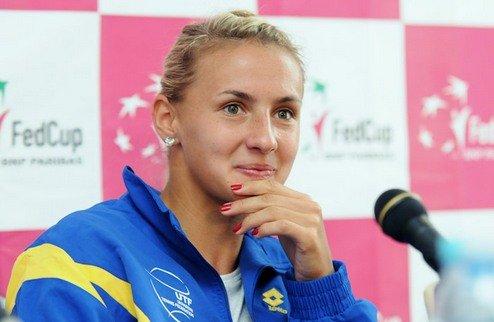 Украинские теннисистки проиграли Германии в матче Кубка Федерации
