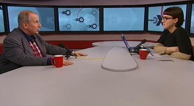Известный писатель устроил скандал на российском ТВ. Видео