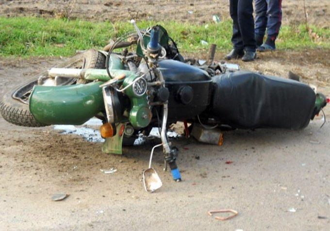 На Виннитчине 44-летний мотоциклист разбился о металлическое ограждение
