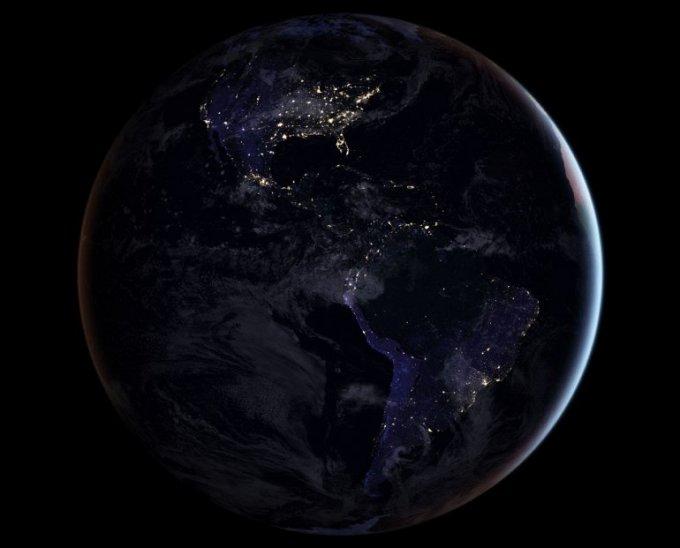 Ночная Земля в завораживающих снимках NASA. Фото