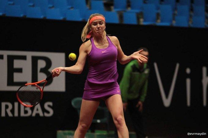 Свитолина выиграла грунтовый турнир в Стамбуле