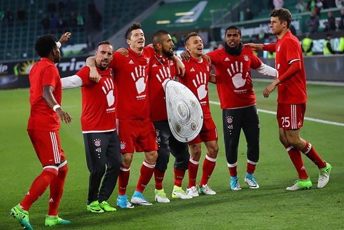 «Бавария» в 27-й раз стала чемпионом Германии