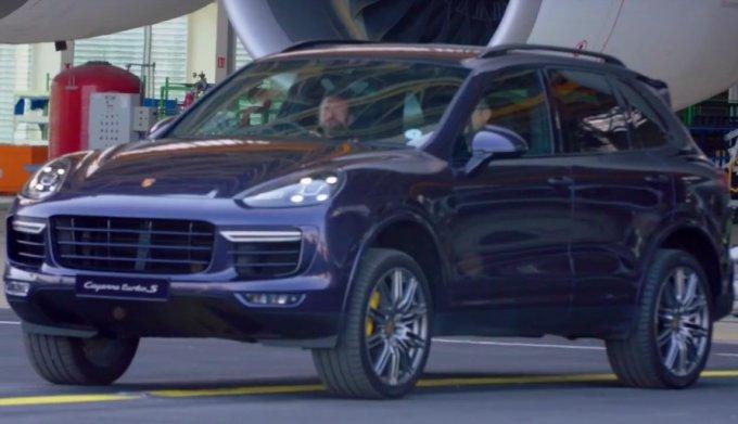 Porsche Cayennе попал в Книгу рекордов Гиннесса