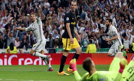Лига Чемпионов: «Реал» разбил «Атлетико» в первом полуфинале