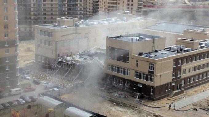 В России обрушилось здание школы: без жертв не обошлось