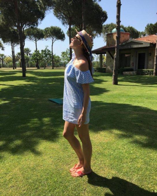 Катя Осадчая показала, как проходит ее отпуск