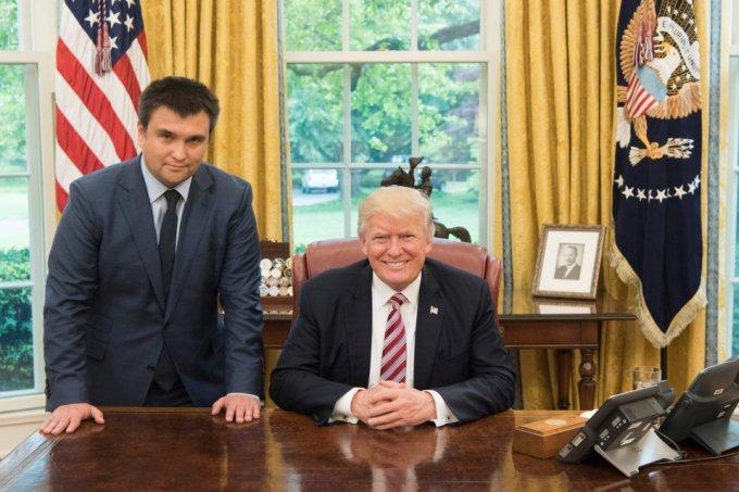 Важная встреча: Климкин и Трамп пообщались в Белом доме