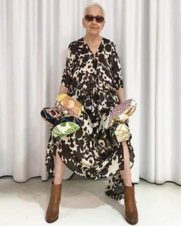 Австралийка в свои 95 лет поражает стильными образами. Фото