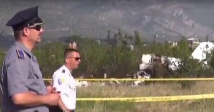 Крушение самолета в БиГ: среди жертв есть дети