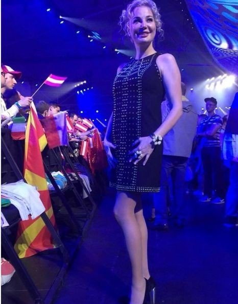 Оперная певица Максакова удивила цветущим видом на «Евровидении»