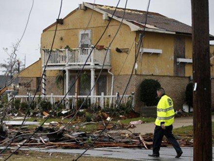 Торнадо в США нанес мощный урон: 1 человек погиб, 25 — получили травмы