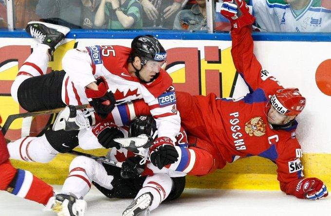 Канада, Россия и остальные участники плей-офф чемпионата мира по хоккею