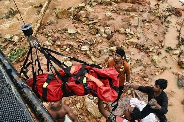 Наводнение накрыло Шри-Ланку: более сотни погибших