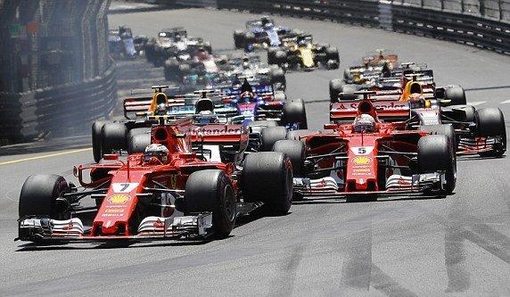 Формула-1: Феттель во второй раз выиграл Гран-при Монако