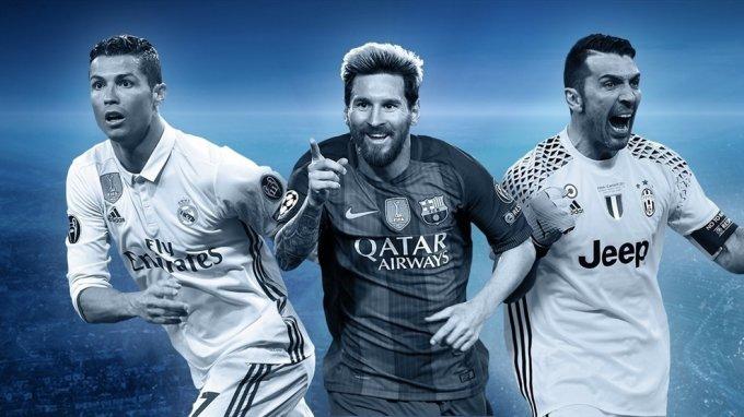 УЕФА представил символическую сборную сезона в Лиге Чемпионов