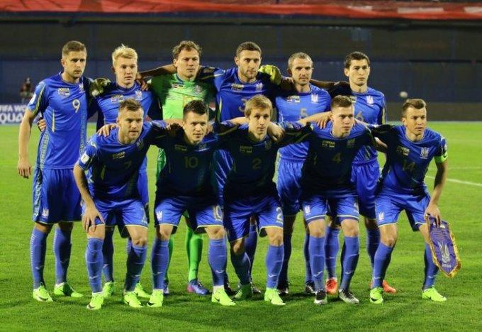 Сборная Украины в товарищеском матче проиграла Мальте