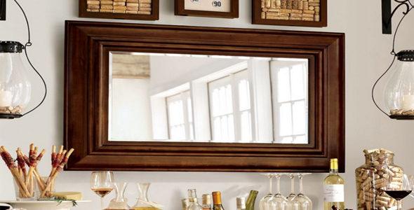 Расположение зеркал в интерьере