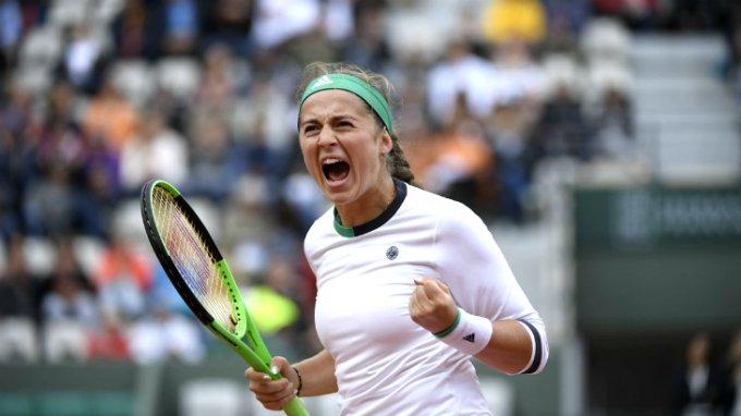 Теннисистка из Латвии Остапенко сенсационно выиграла Ролан Гаррос
