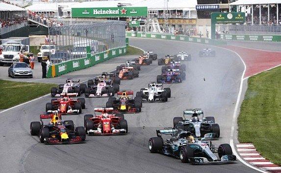 Формула-1: Хэмилтон в шестой раз стал победителем Гран-при Канады