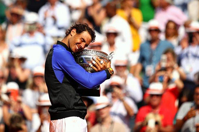 Надаль в десятый раз выиграл Открытый чемпионат Франции по теннису