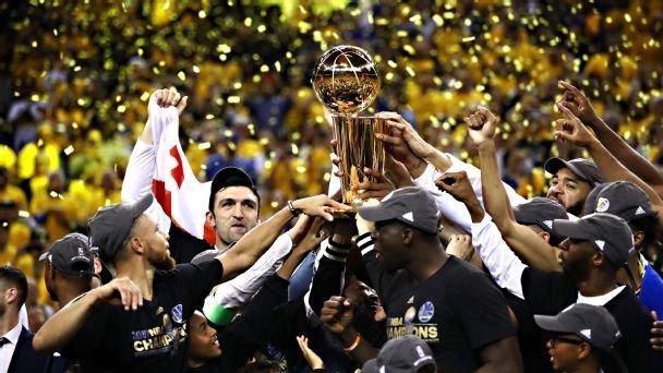 «Голден Стейт» — чемпион НБА в сезоне 2016/2017