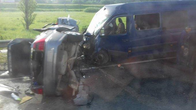 Страшная авария на львовской трассе унесла жизни троих человек