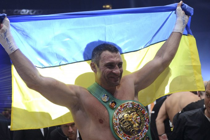 Виталий Кличко будет принят в Международный зал славы бокса