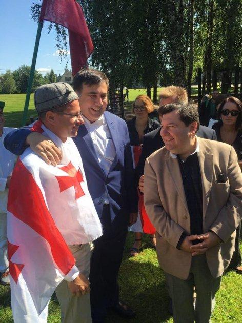 Саакашвили из Польши перебрался в Литву