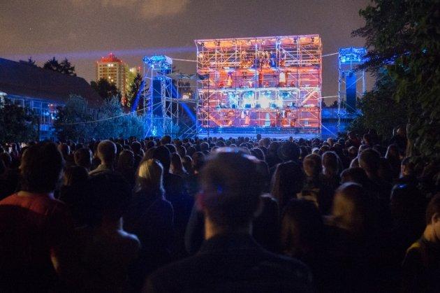 Вновь поражает публику: в Киеве стартовал ГогольFest 2017. Фото