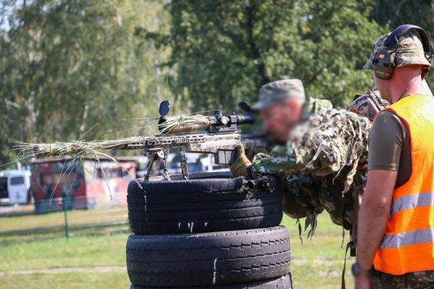 Под Киевом соревнуются лучшие снайперы Нацгвардии. Фото