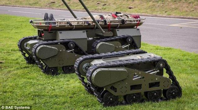 В Британии появились боевые роботы