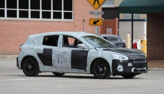 Фотошпионам удалось засечь Ford Focus нового поколения