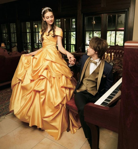 Свадебные платья в стиле персонажей студии Disney. Фото
