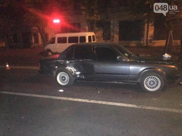 В Одессе в аварию попали бойцы Нацгвардии