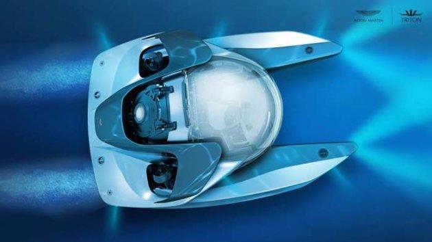 Уникальная подлодка от Aston Martin. Фото