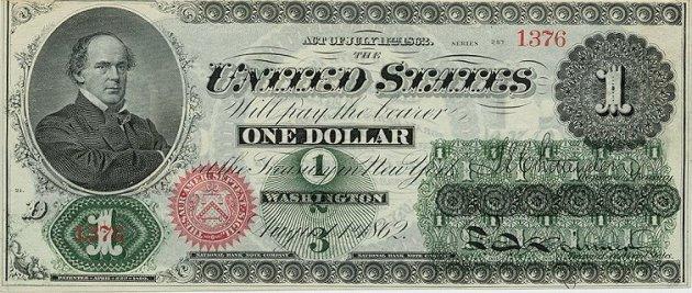 Как менялась со временем купюра в один доллар. Фото