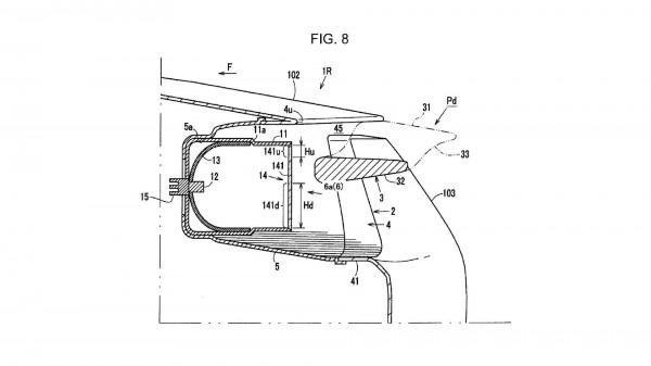 Mazda запатентовала уникальный спойлер
