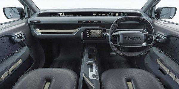 Toyota рассекретила концепт внедорожника Tj Cruiser