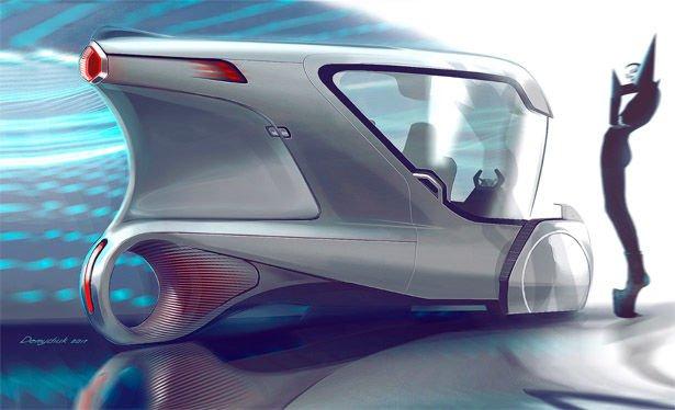 Украинец изобрел электромобиль без аккумулятора